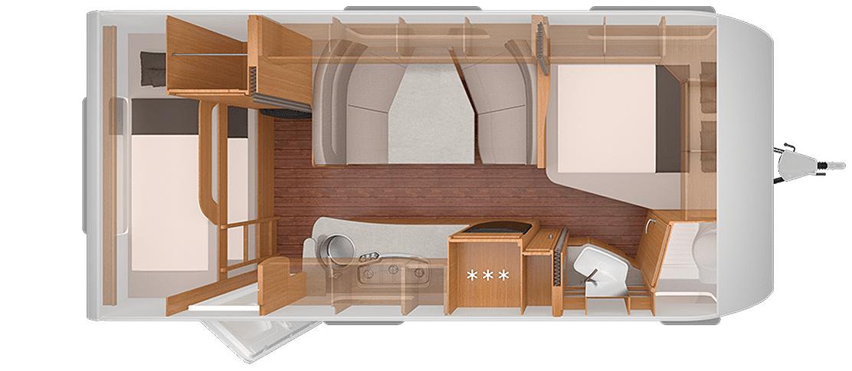Camping Sylt - Wohnwagen der Kategorie B