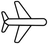 Flug zur Insel Sylt