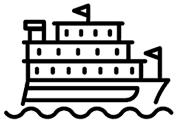 Mit dem Schiff zur Insel Sylt